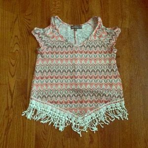 Cute top with Fringe